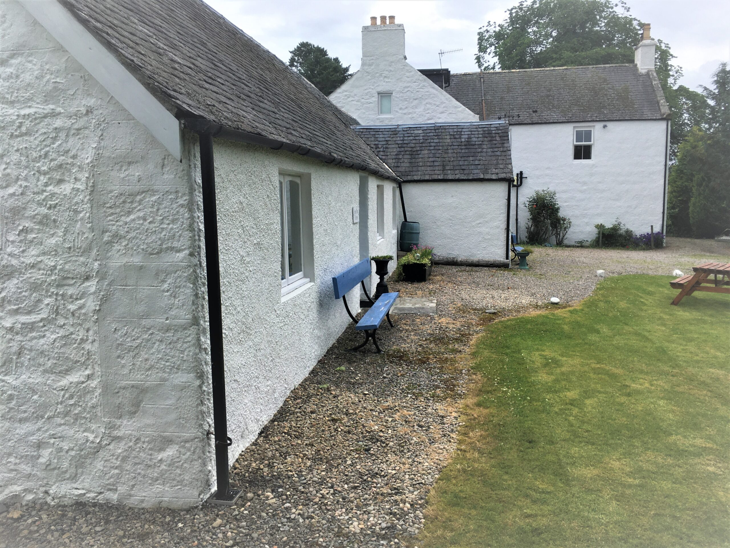 Front of Cottages